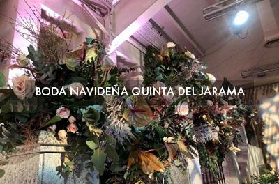 Boda Navideña en Quinta del Jarama