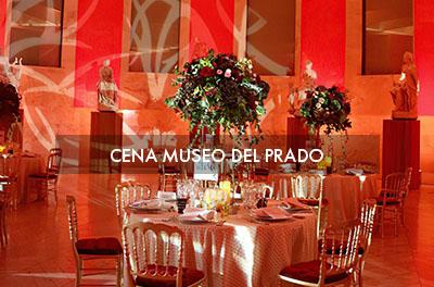 Cena en el Museo del Prado