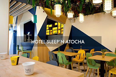 Hotel Sleep'n Atocha