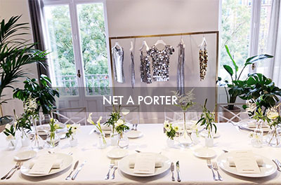 Presentation Paco Rabanne for Net a Porter