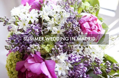 Summer Wedding in Madrid