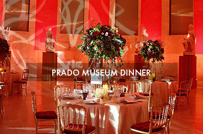 Dinner at the Prado Museum