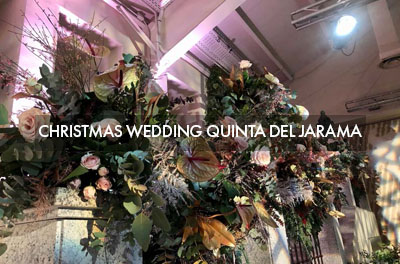 Christmas wedding in Quinta del Jarama